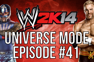 WWE 2k14 Universe Mode – #41 The Big Announcement