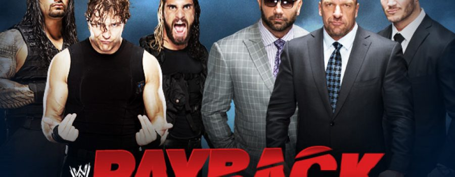 Payback 2014: The Shield vs Evolution – No Holds Barred Elimination