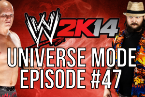 "WWE 2k14 Universe Mode – #47: ""A Legend Returns"""