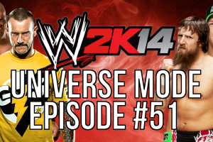 "WWE 2k14 Universe Mode – #51 ""Double Duty"""