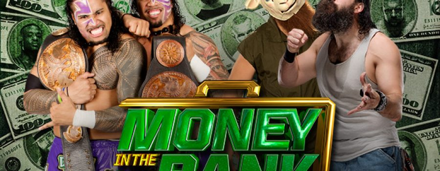 Money In The Bank 2014: The Usos (c) vs The Wyatt Family – WWE Tag Team Championship Match