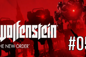 "Wolfenstein: The New Order – PS4 UBER Difficulty Playthrough: #05 ""Bloody Drones"""
