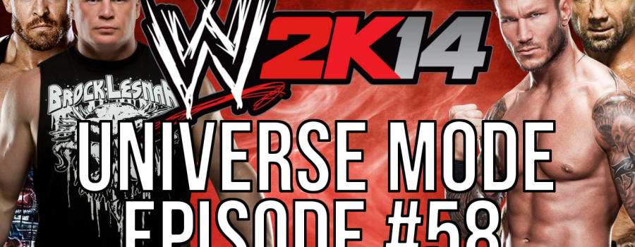 """WWE 2k14 Universe Mode – #58 """"Call For Help"""""""