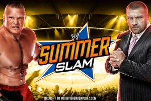 Summerslam: Brock Lesnar vs Triple H Match Preview