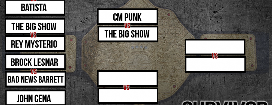"""""""First Round"""" Matches Revealed For This Weeks Smackdown"""